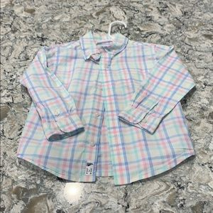 Janie & Jack Button Down Top